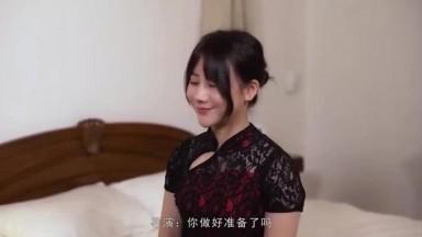 MD0051 国风旗袍美女王茜想做演员被麻豆传媒导演潜规则